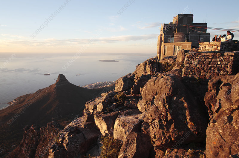 Cableway station, Cape Town