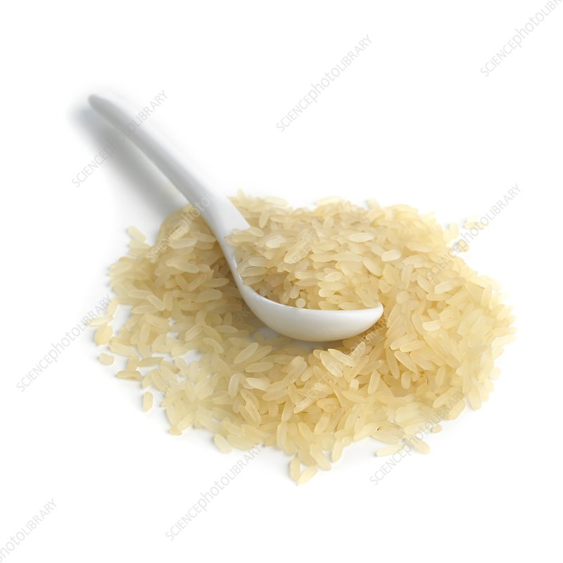 Rice and a spoon