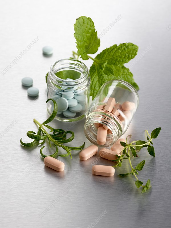 Homeopathic medicine and herbs