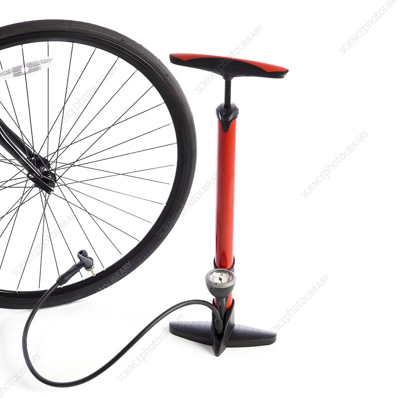 Bicycle wheel and bicycle pump