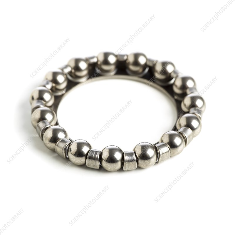Ring of ball bearings