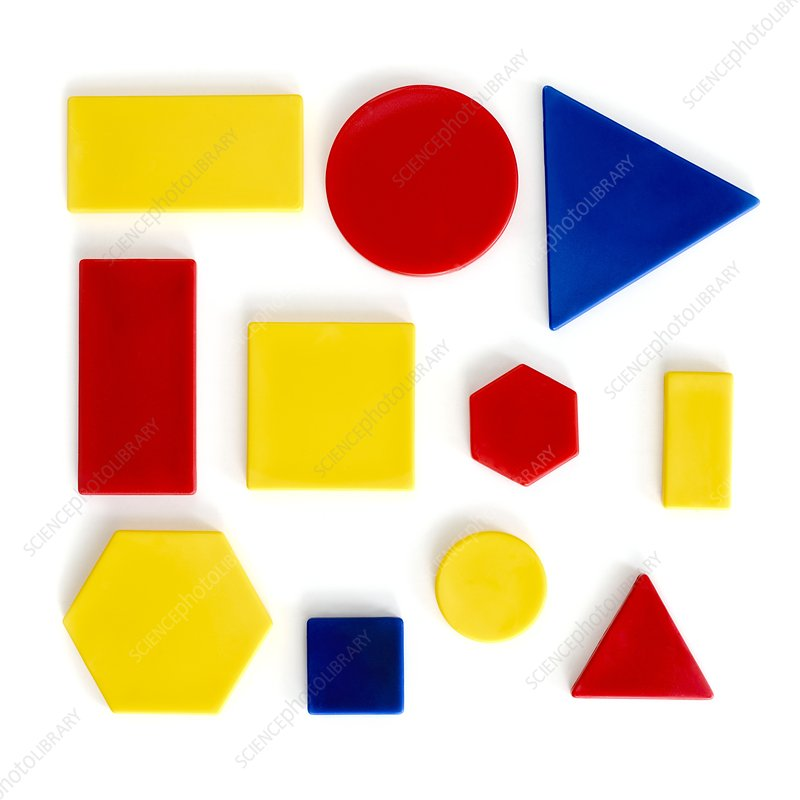 Colourful shapes