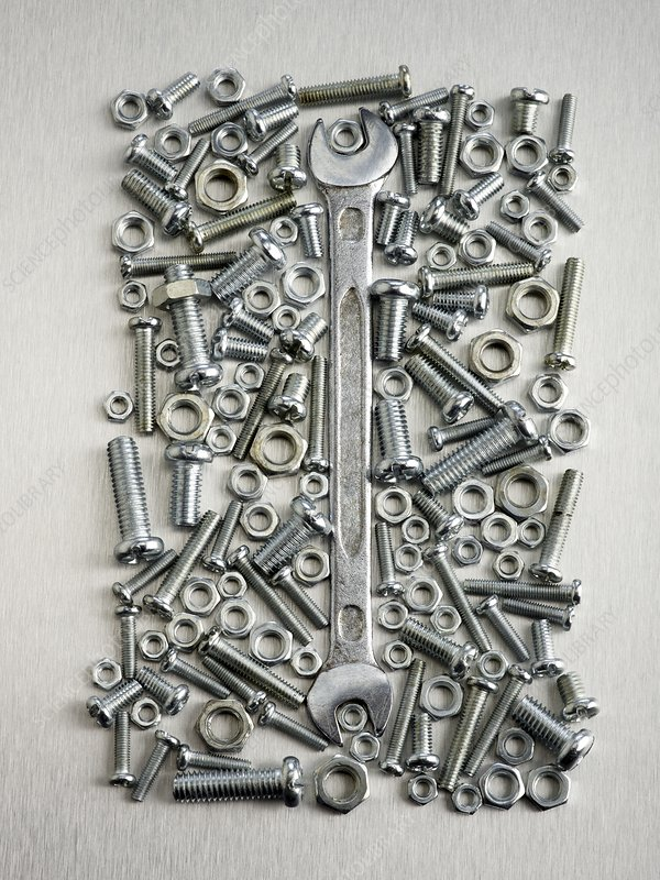 Nuts and bolts and spanner