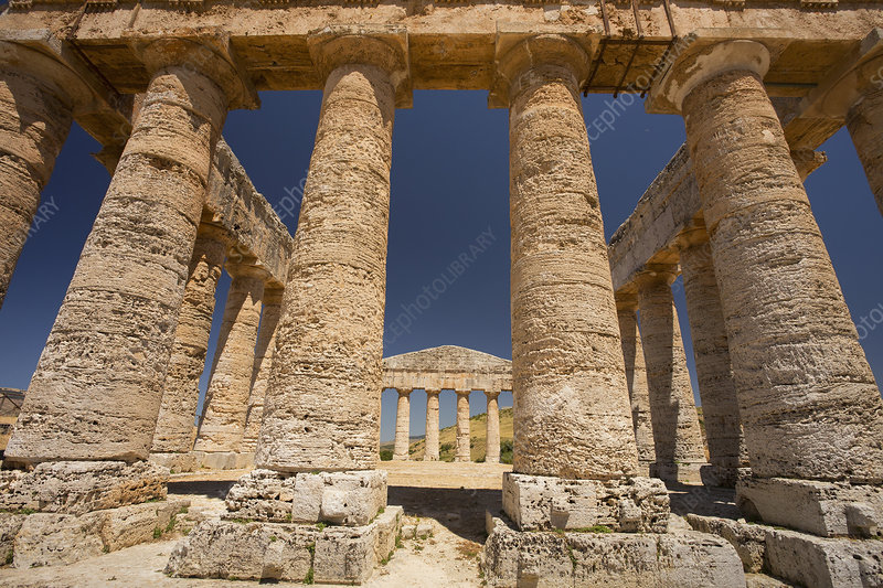 Columns of the Temple of Segesta, Sicily
