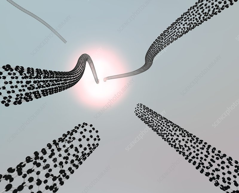 Carbon nanotubes growing