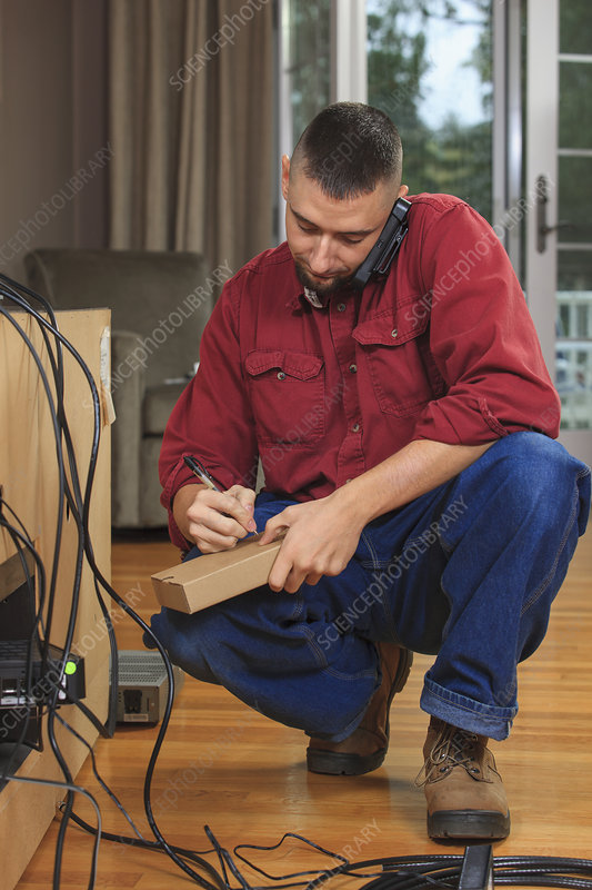 Cable installer calling service