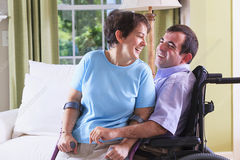 Couple with Cerebral Palsy
