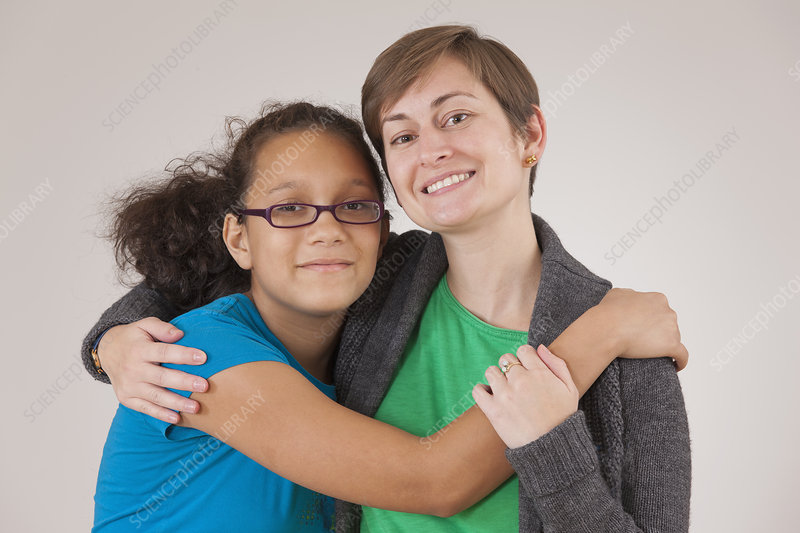 Girl with learning disability and mentor