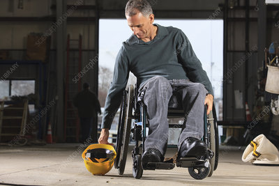 Engineer with spinal cord injury