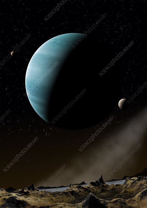 Artwork of Exoplanet HD69830