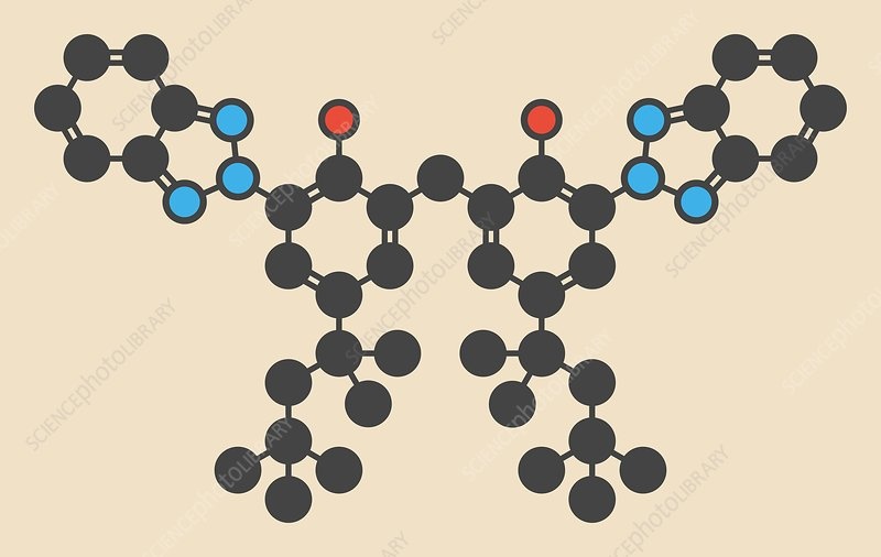 Bisoctrizole sunscreen molecule