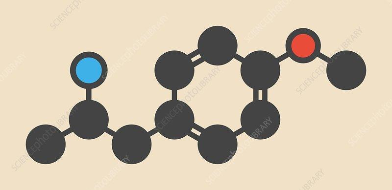 Hallucinogenic drug molecule