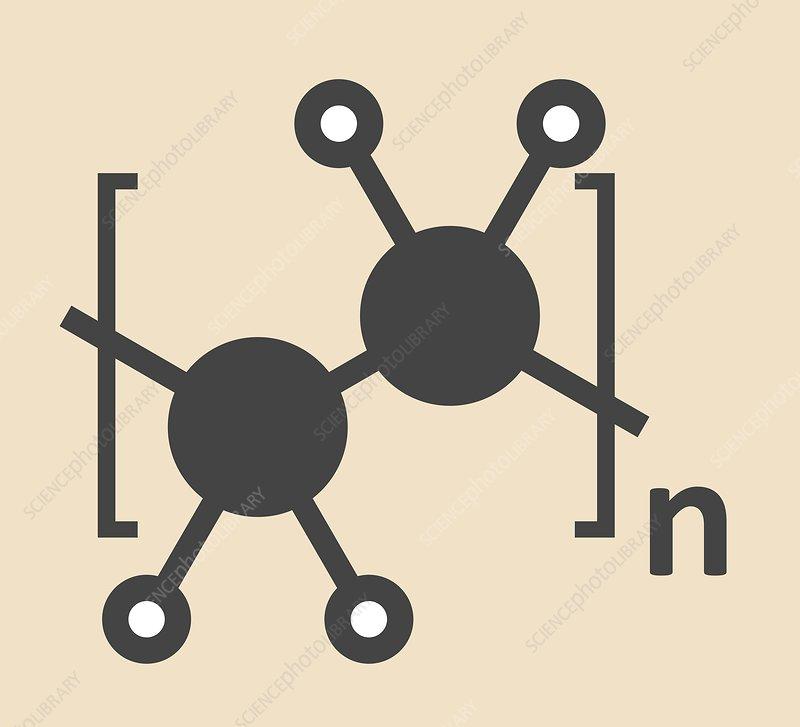 Polyethylene polymer molecule