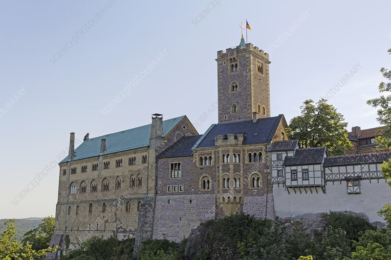 Wartburg Castle, Eisenach, German