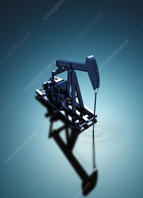 Oil well pump, Illustration