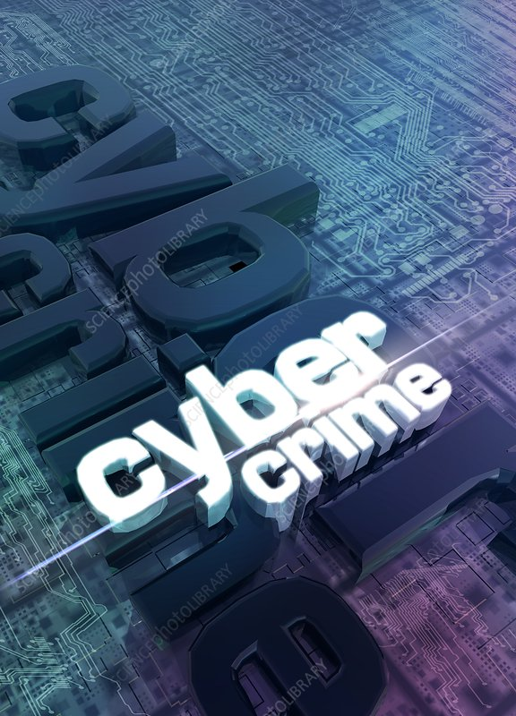 Cyber crime, Illustration