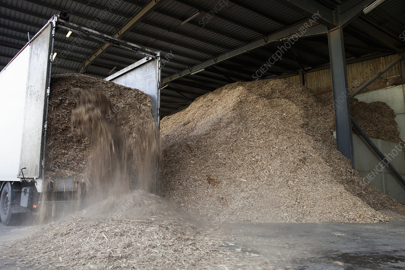Stored organic waste biomass fuel