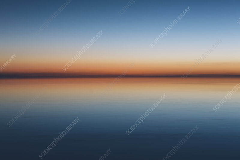 Bonneville Salt Flats at dawn