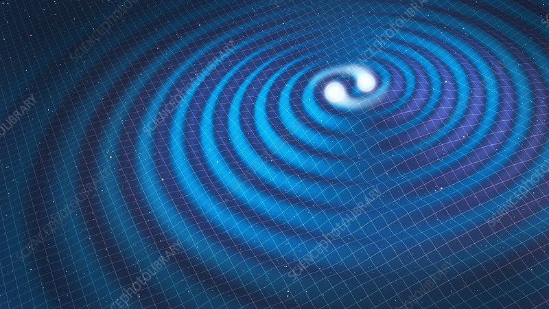 Conceptual image of gravitational waves