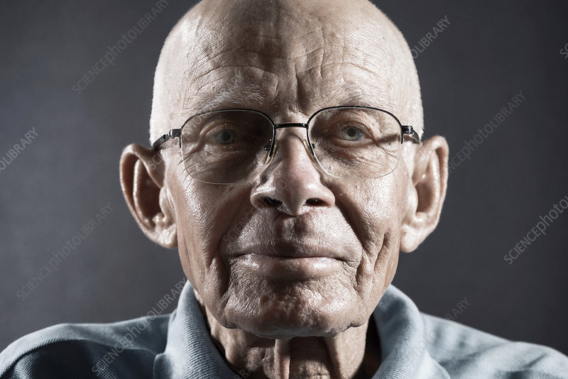 Portrait of a Man wearing glasses