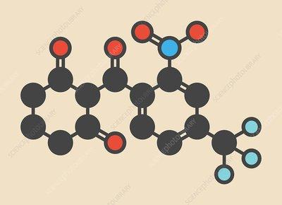 Nitisonone drug molecule