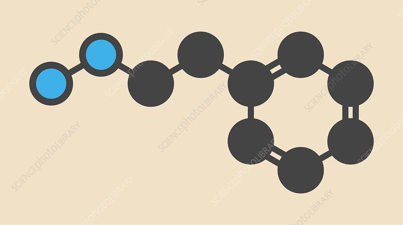 Phenelzine antidepressant molecule