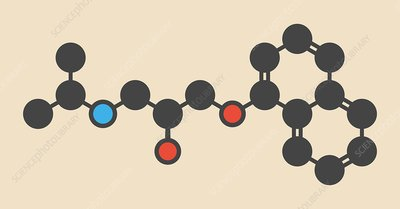 Propranolol high pressure drug molecule