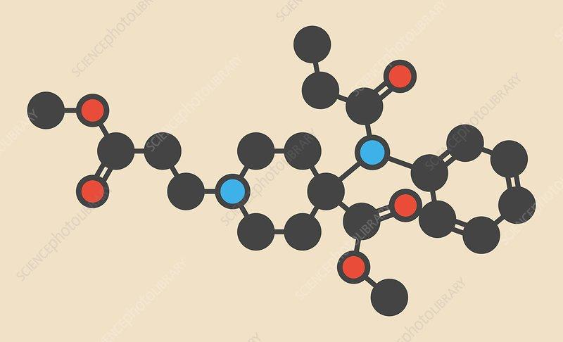 Remifentanil drug molecule