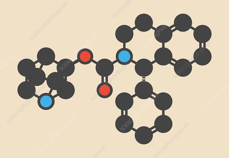 Solifenacin molecule