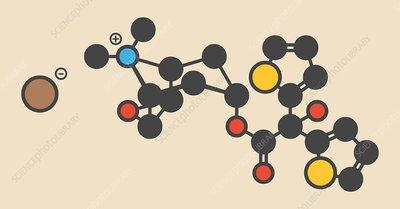 Tiotropium bromide molecule