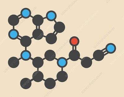 Tofacitinib molecule