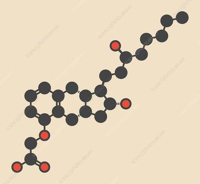 Treprostinil PAH drug molecule
