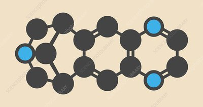 Varenicline molecule