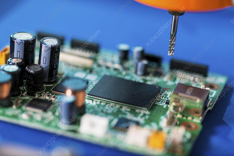 Printed circuit board processing