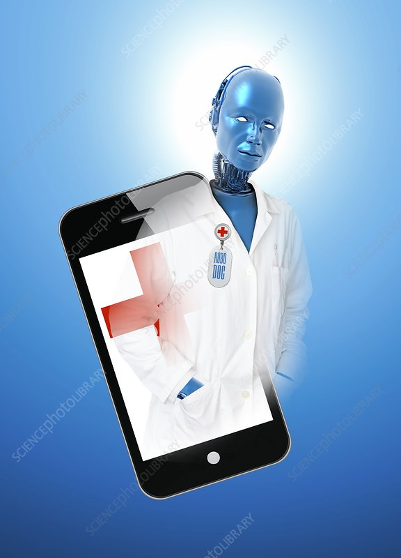 Android doctor, illustration