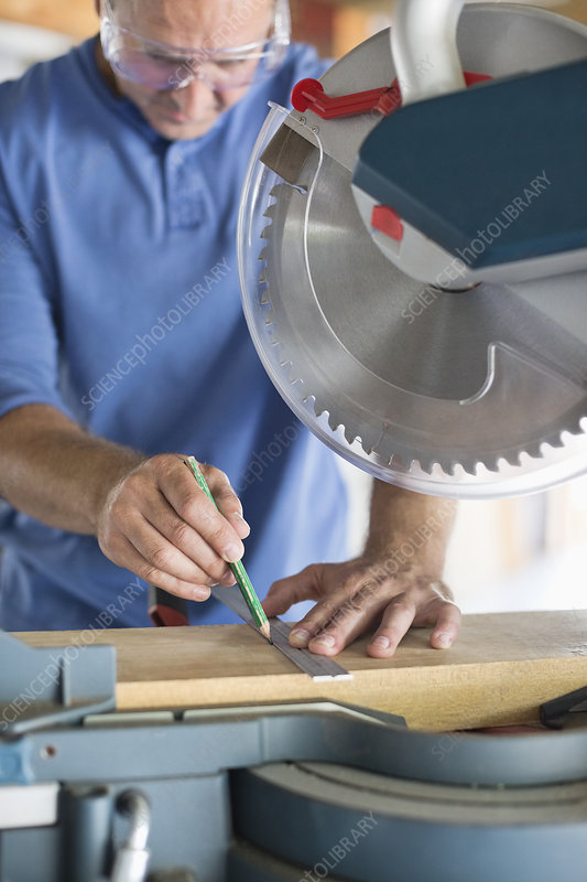 Man working in workshop