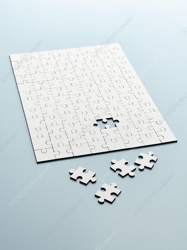 Extra jigsaw pieces