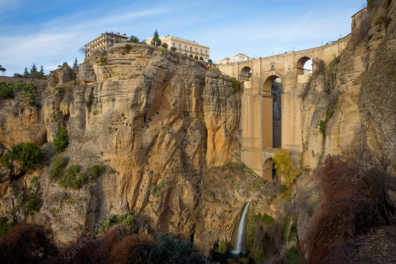 Ronda and cliffs, Andalucia, Spain