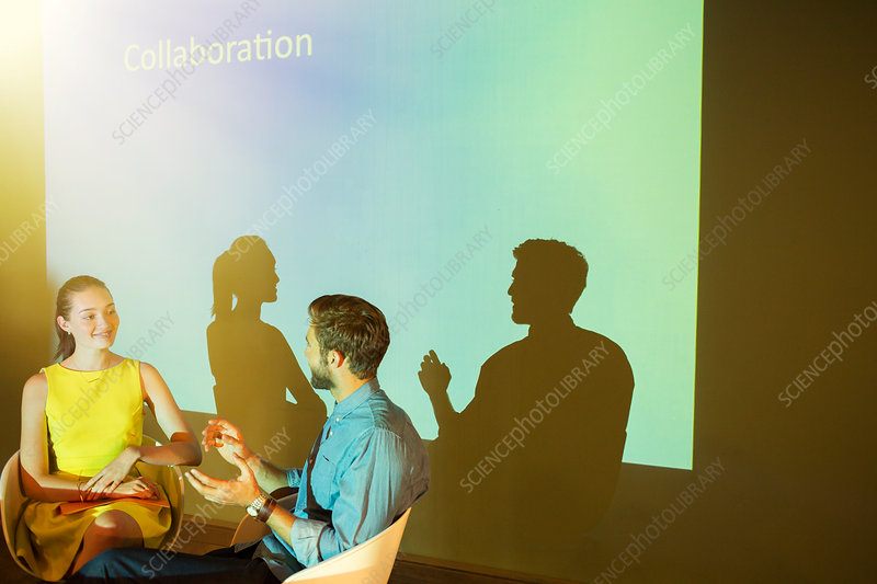 Business people discussing Collaboration