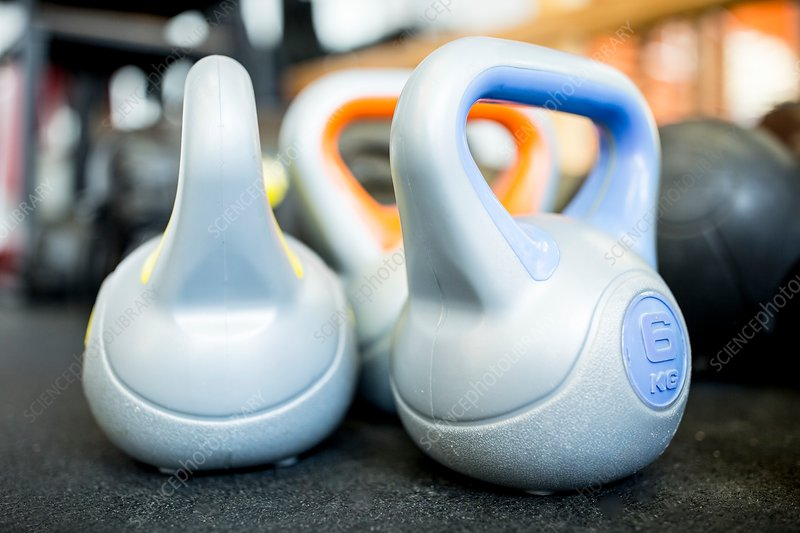 Close-up of kettlebell