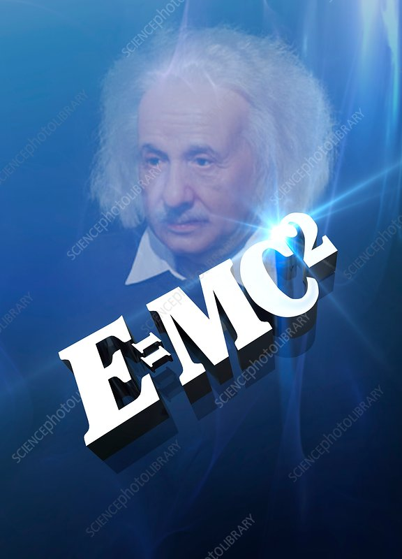 Einstein's mass-energy equation