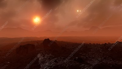 Artist's impression of Proxima's Planet