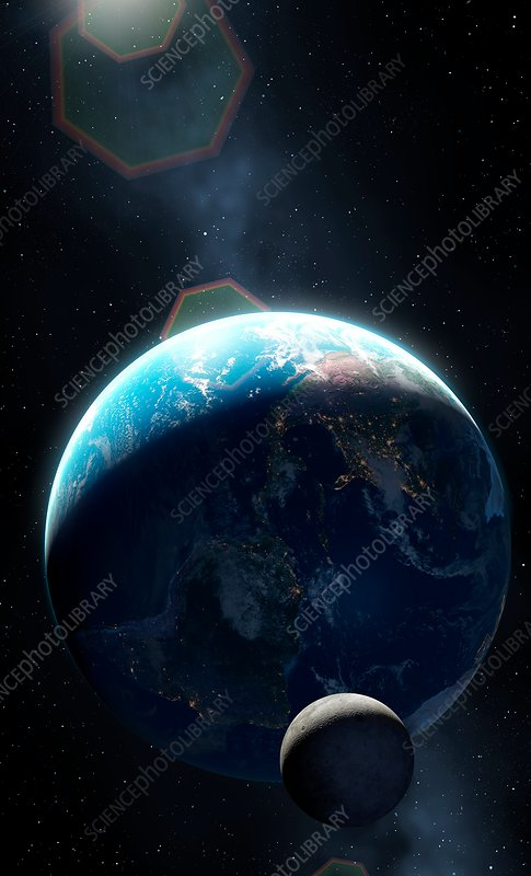 Earth at Night - Americas