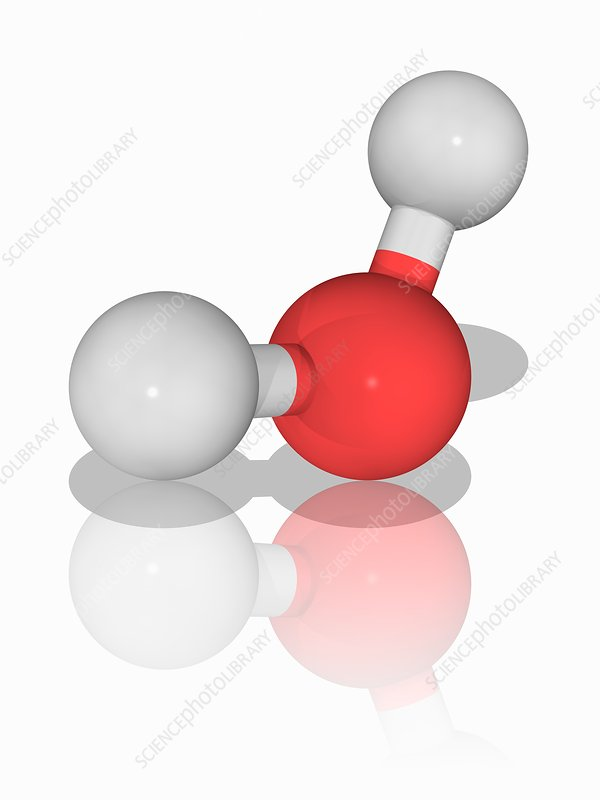 Water chemical compound molecule