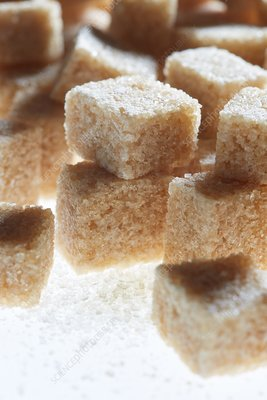 Brown sugar cubes