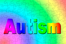 Autism spectrum, conceptual illustration