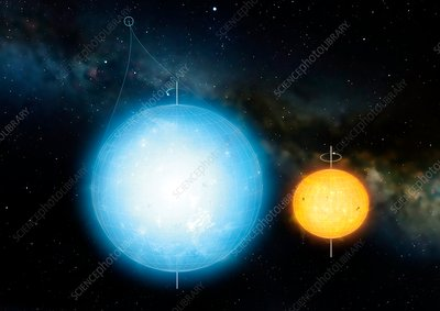 Artwork of Most Spherical Star