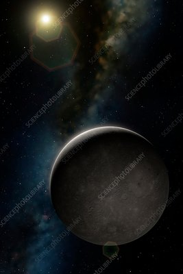 Artwork of Planet Mercury