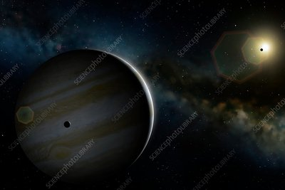 Artwork of Planet Jupiter