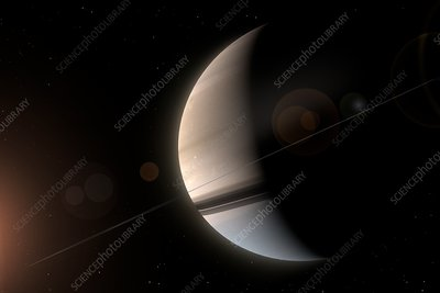 Artwork of Saturn